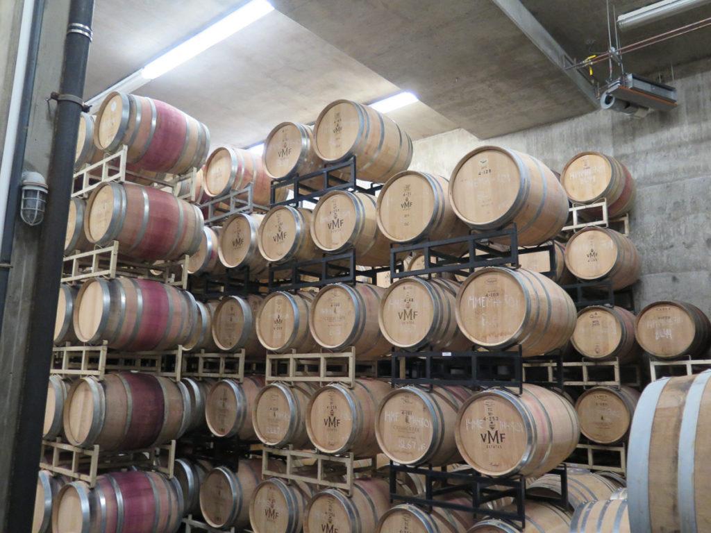 Holzfässer Wein