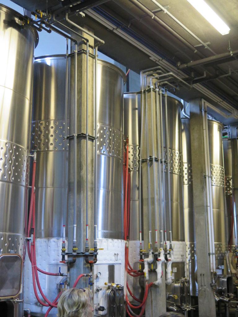 Weinfässer Metall