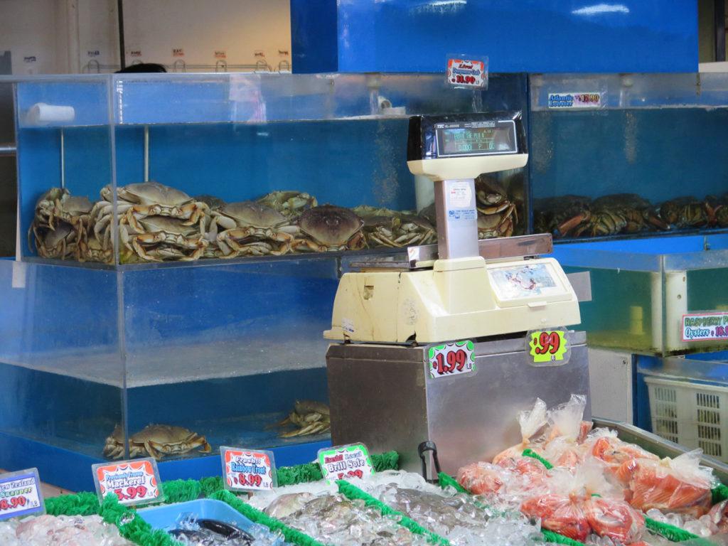 Granville Island Markt Fisch