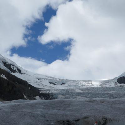 Mit dem Ice Explorer zum Athabasca Gletscher und Ruhe am Pyramid Lake