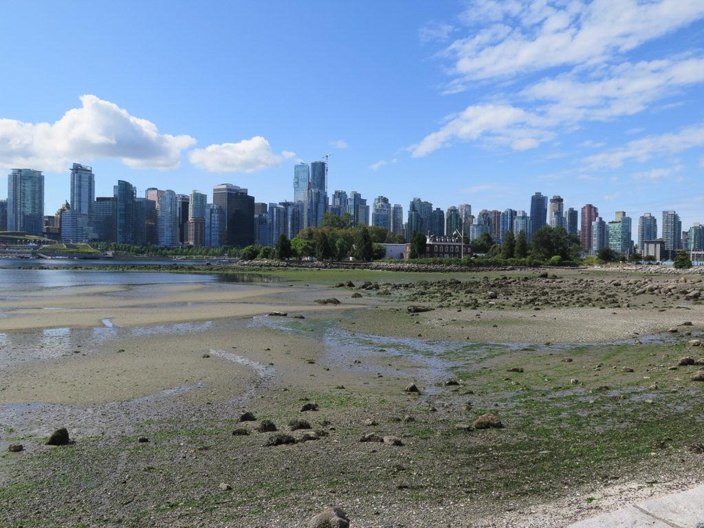 Ein Foto der Skyline von Vancouver
