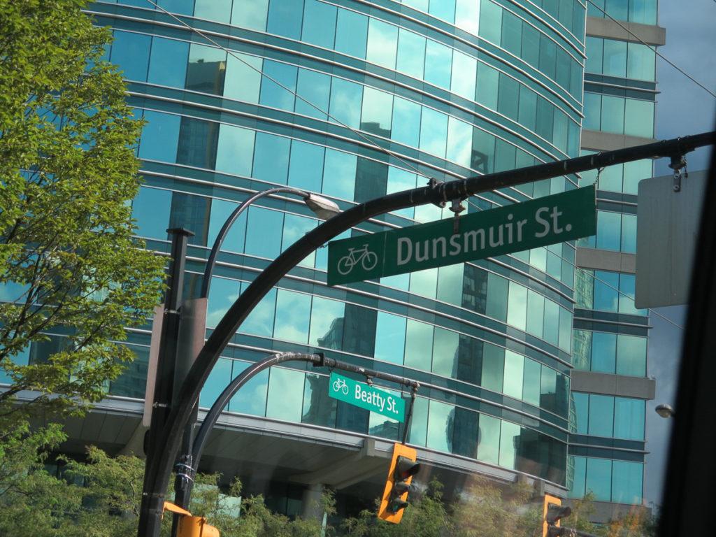 Foto von einem Straßenschild