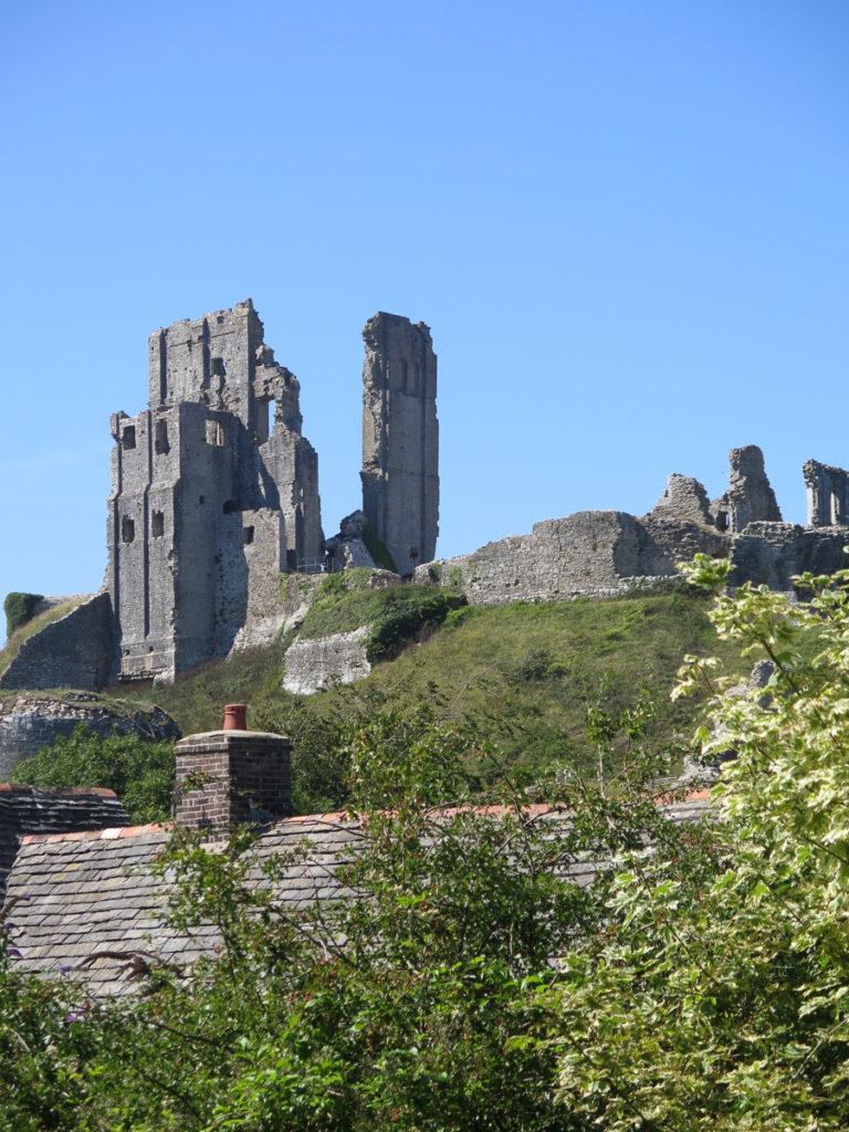 Corfe Castle, eine Burg