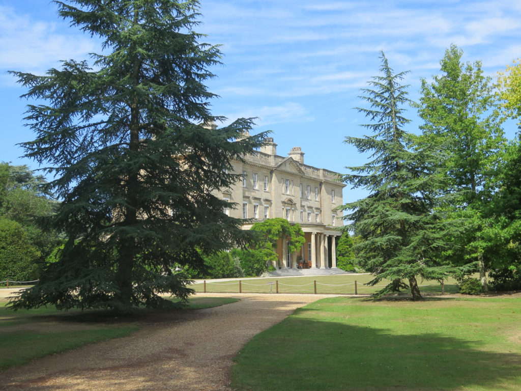 Exbury Gardens, Blick auf das Haupthaus