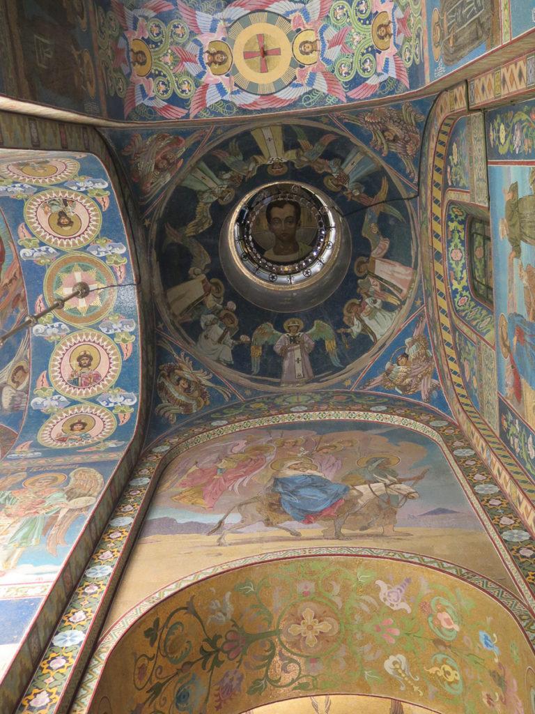 Mosaik in der Erlöserkirche in St. Petersburg