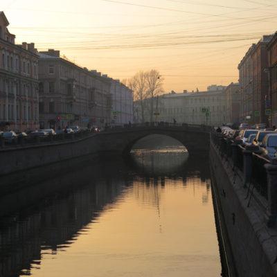 Kälte und Balletmagie in Sankt Petersburg