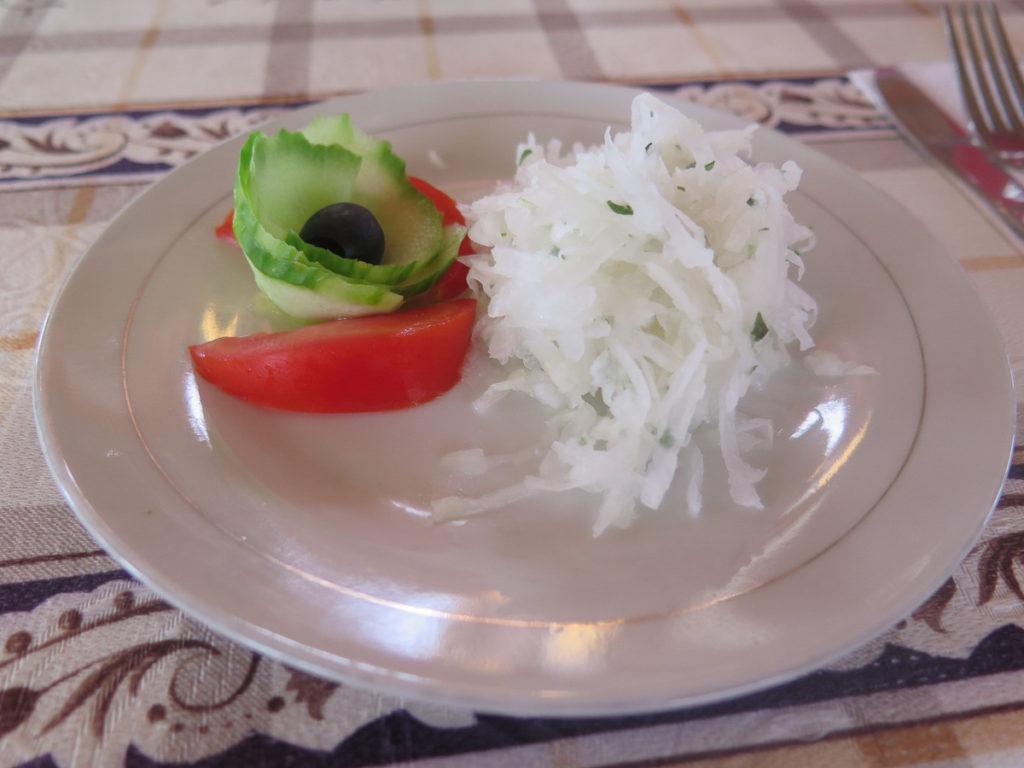 Krautsalat in der Mongolei