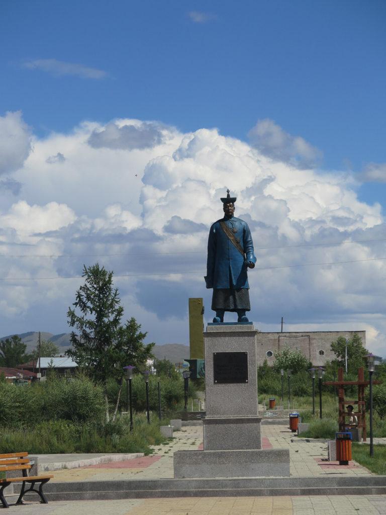 Statue in Murun Mongolei