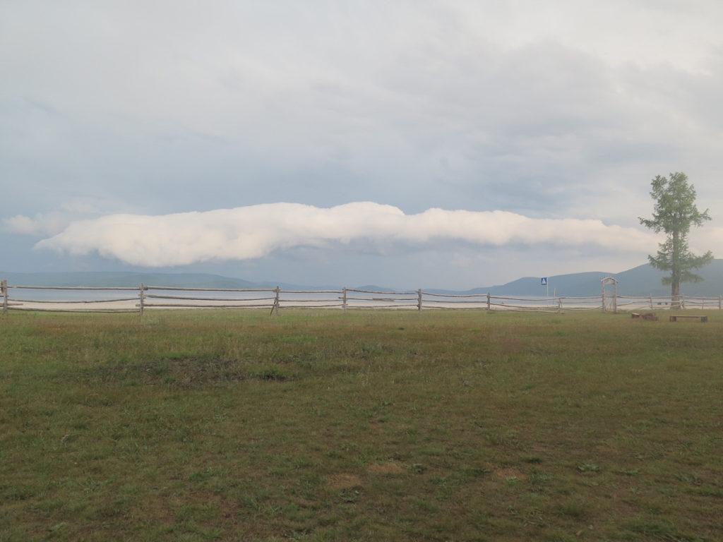 Gewitterwolken über den Chuwsgulsee