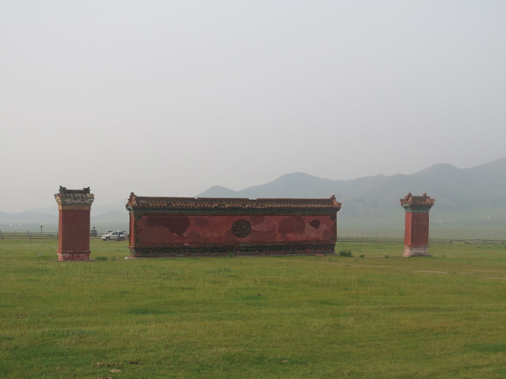 Kloster Amarbayasgalant Mauer
