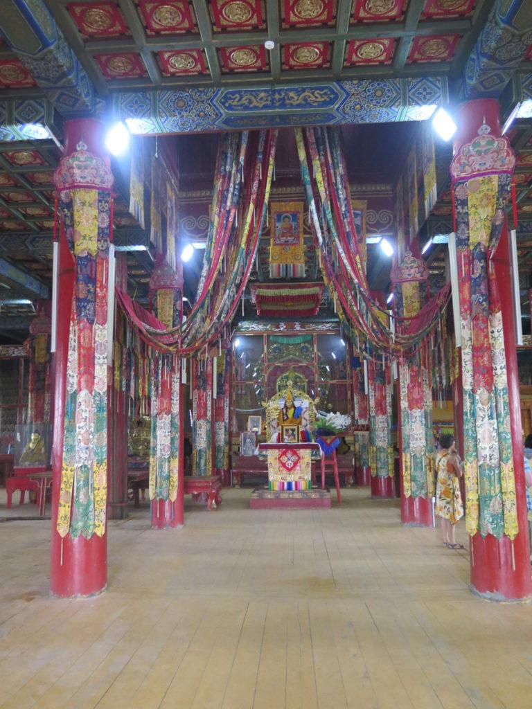 Tempel Amarbayasgalant innen