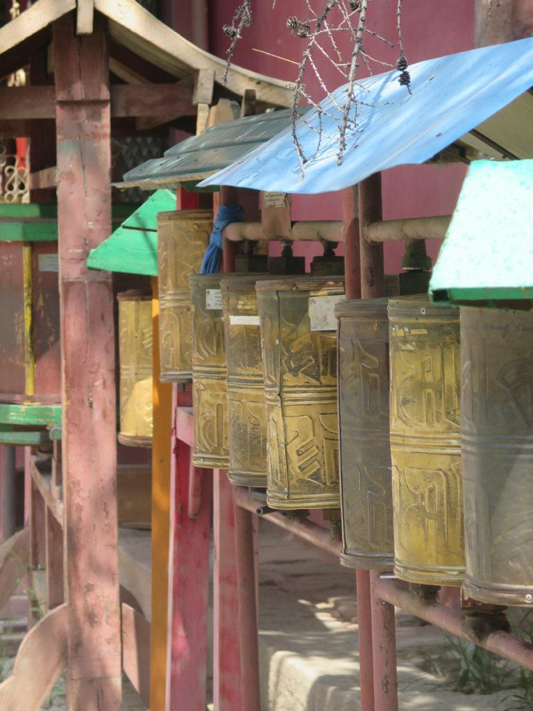 Gebetsmühlen im Gandan Kloster