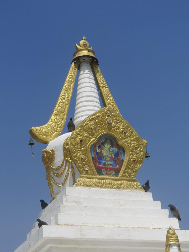 Stupa mit Gold Gandan Kloster
