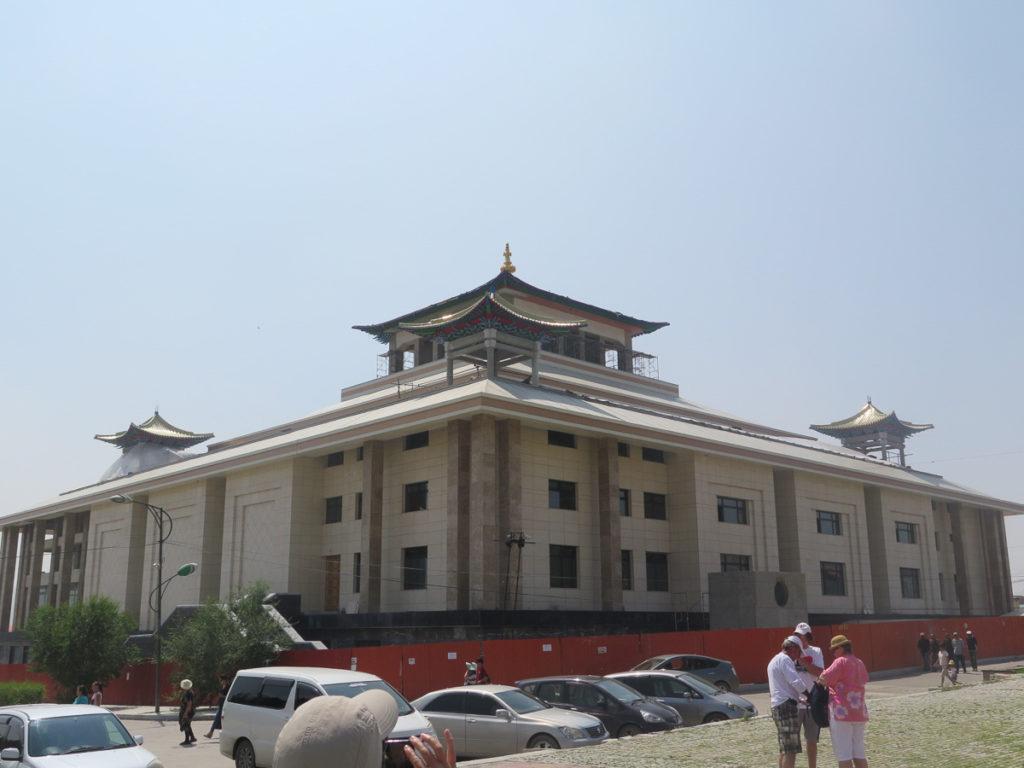 Gandan Kloster neues Gebäude