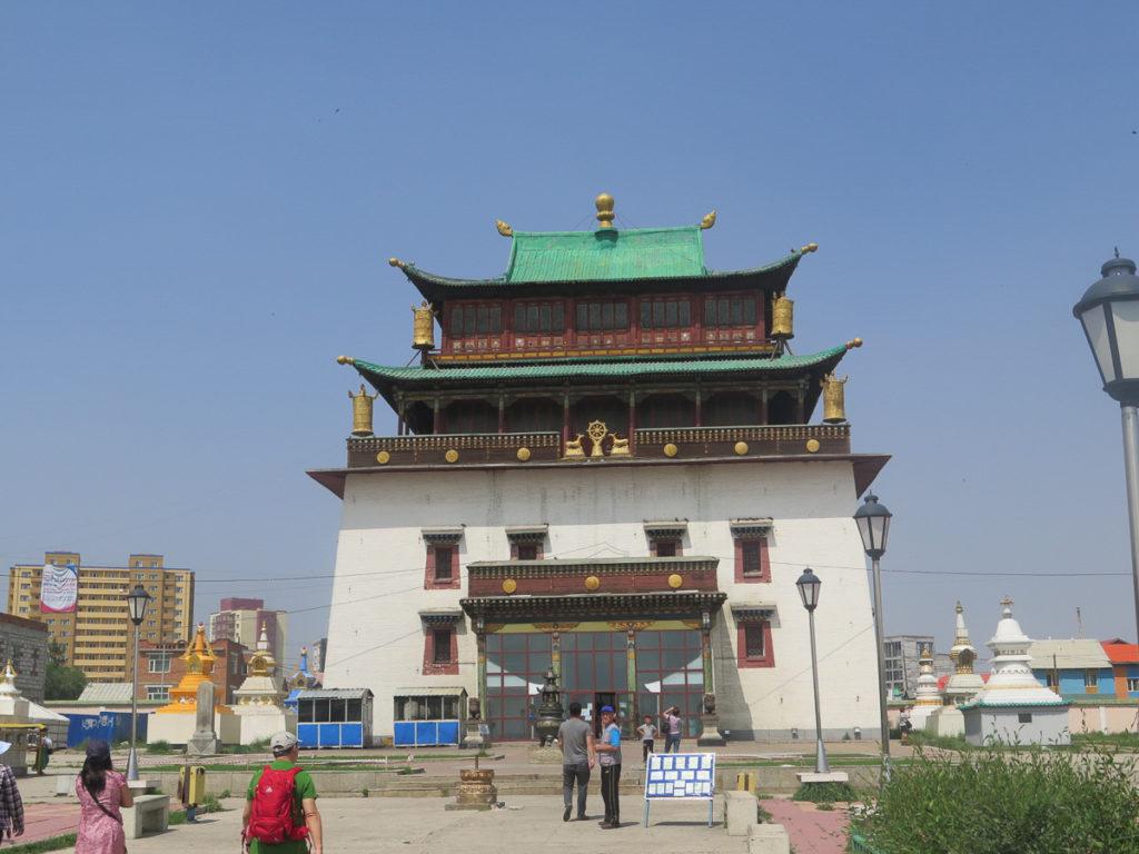 Haupttempel Aussenansicht Gandan Kloster