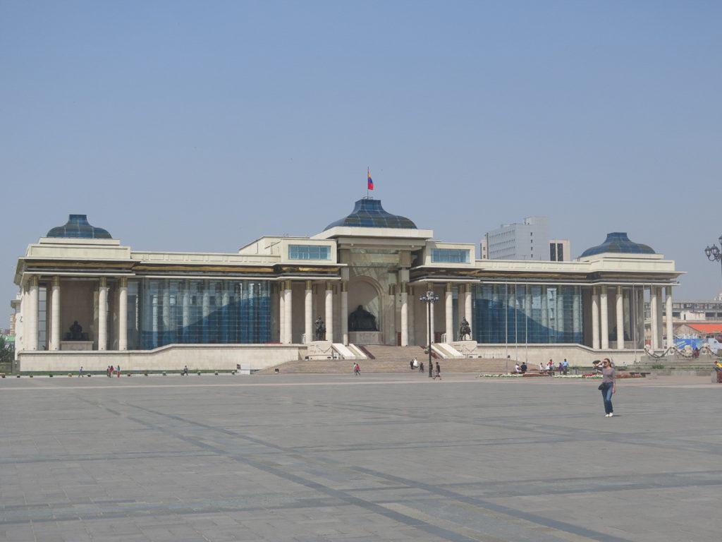 Parlementsgebäude Ulaanbaatar