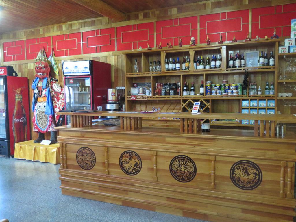 Bar im Restaurantgebäude, chinesischer Stil