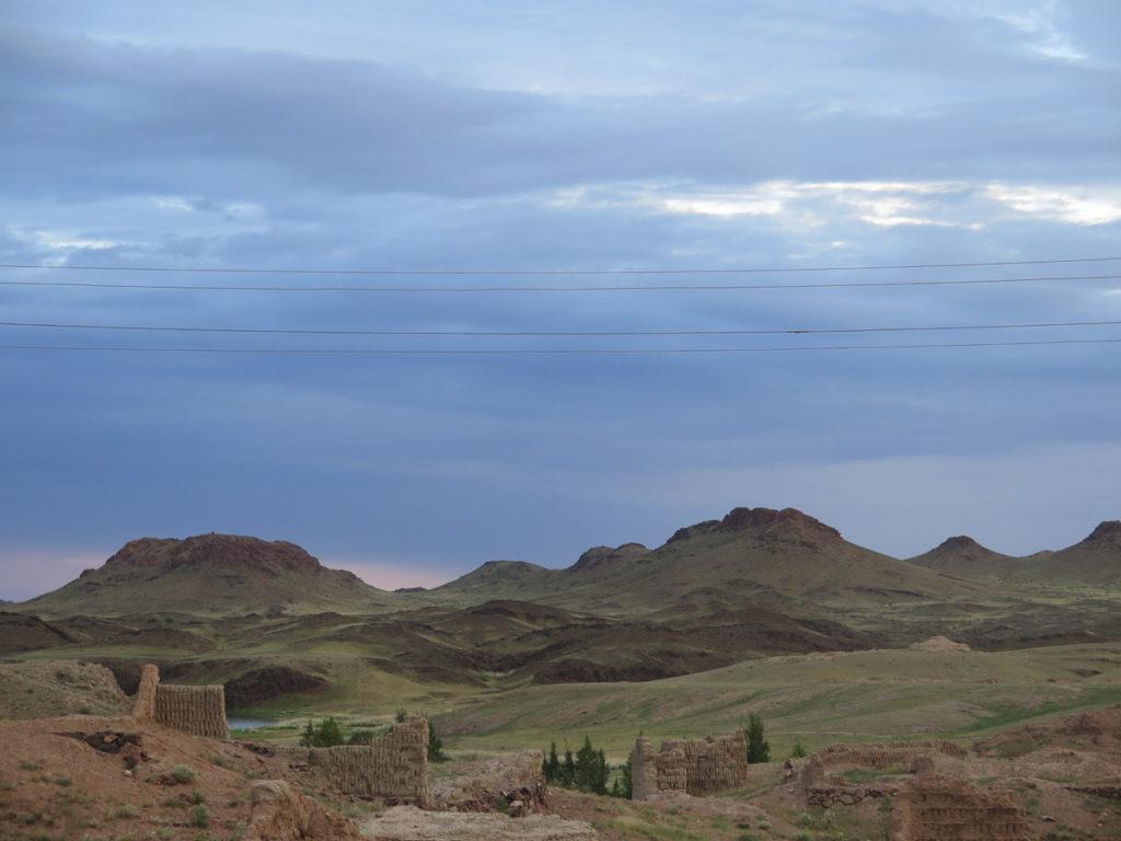 Reste vom Kloster Ongi