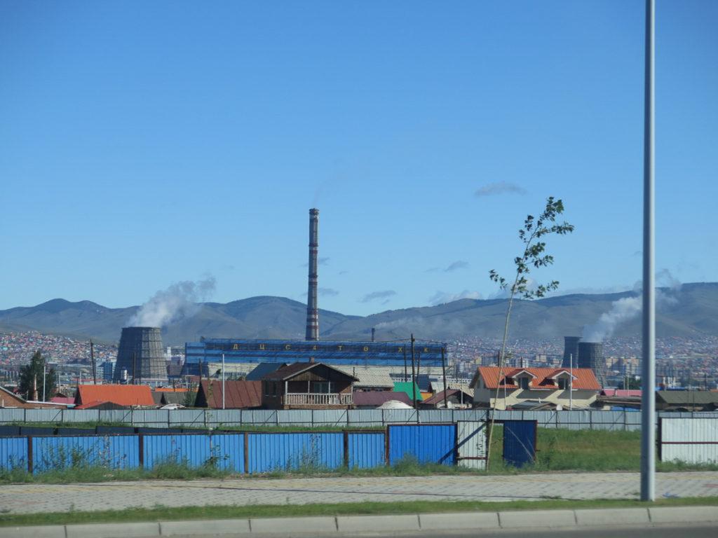 Fabrik in Ulaanbaatar