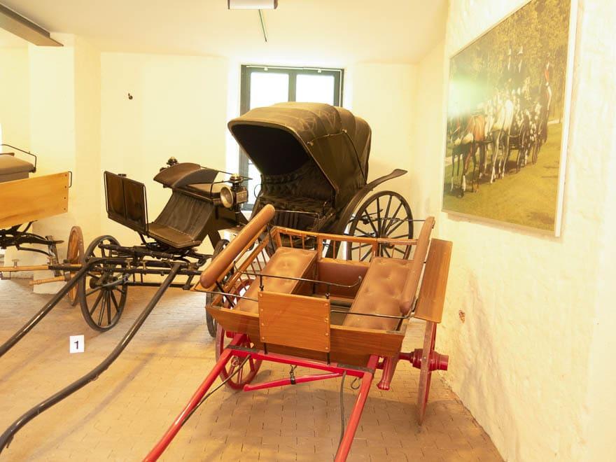 Kutschen in Burg Bentheim