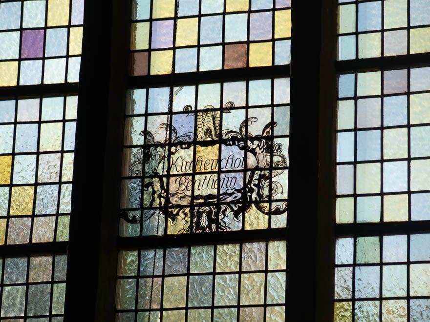 Kirchenfenster 'Kirchenchor Bentheim'