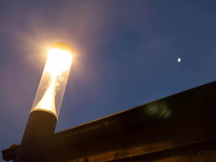 Lanterne Bad Bentheim Abends