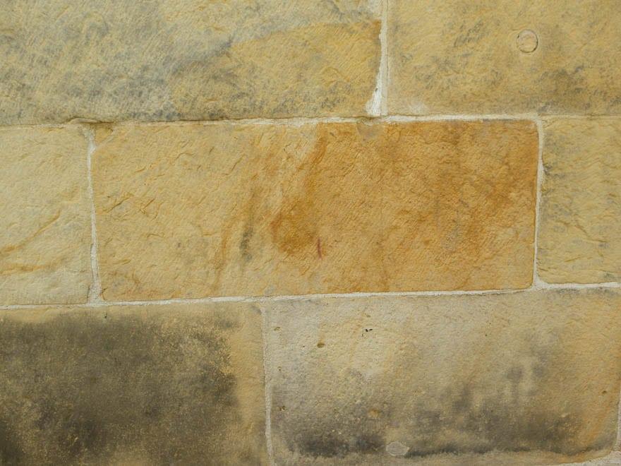 Bentheimer Sandstein nahaufnahme