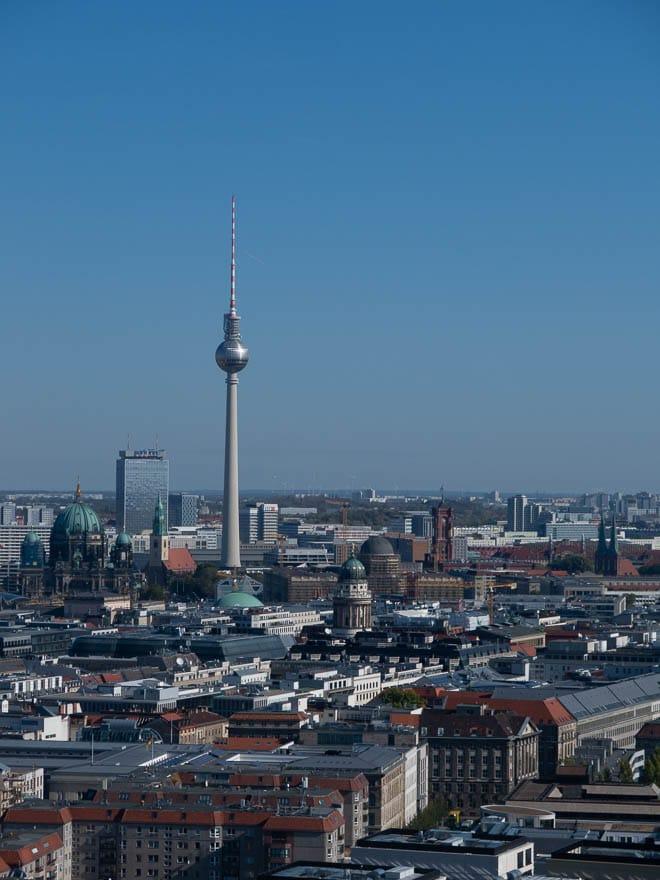 Berlin Fernsehturm Aussicht