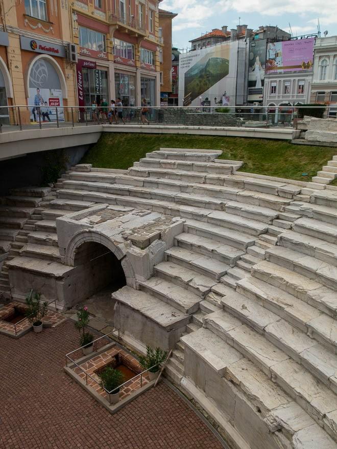 römisches Stadion Plovdiv