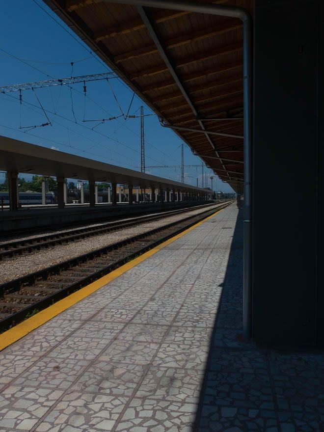 Bahnhof Plovdiv, Gleis