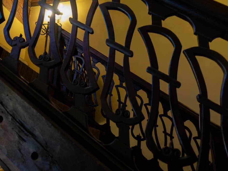 Treppengelände ethnografisches Museum Plovdiv