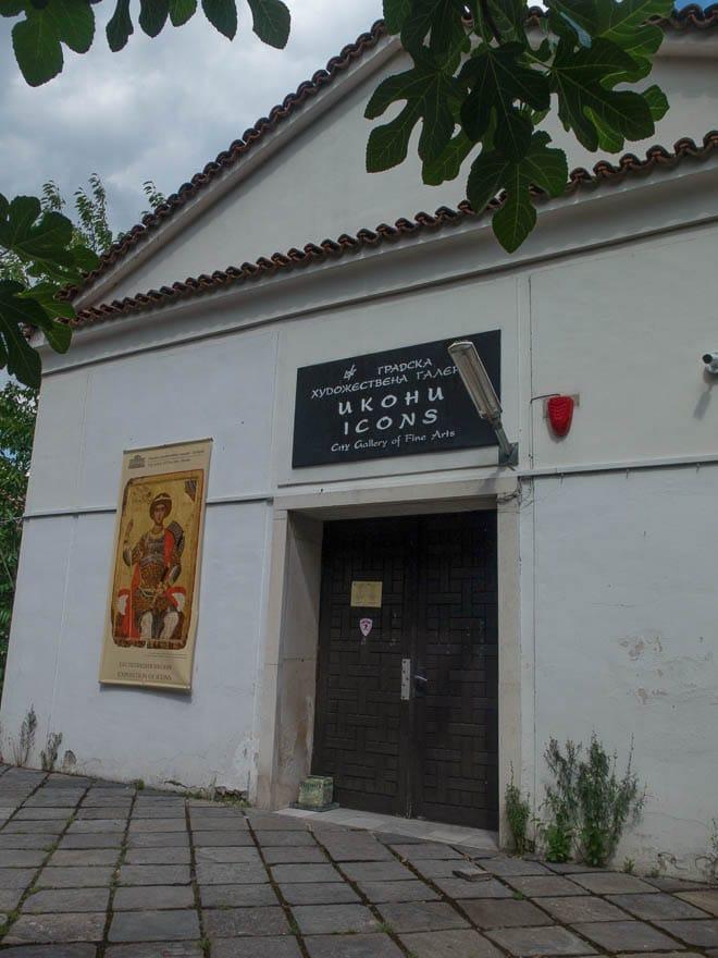 Ikonenmuseum Plovdiv Eingang