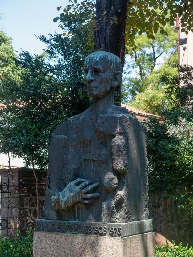 Skulptur Zlatyu Boyadzhiev Plovdiv