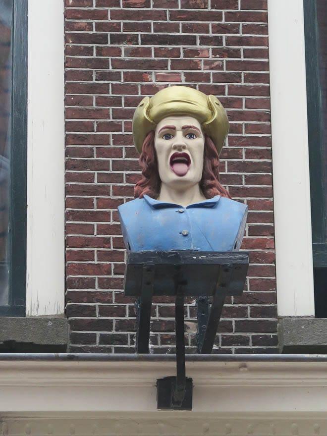 Gaper in Leiden an der Drogerie Boerhaave