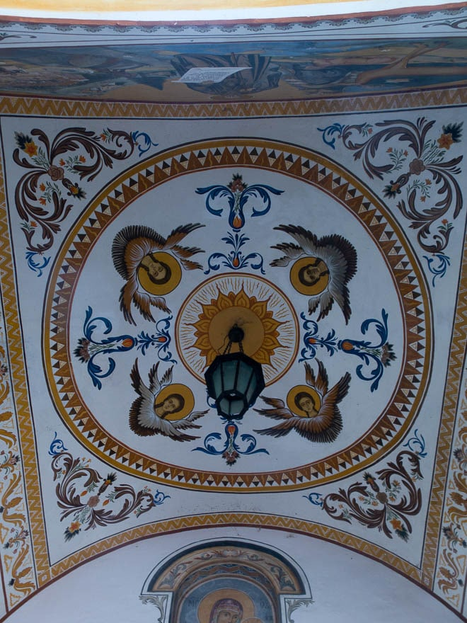 bemalte Decke Rila Kloster