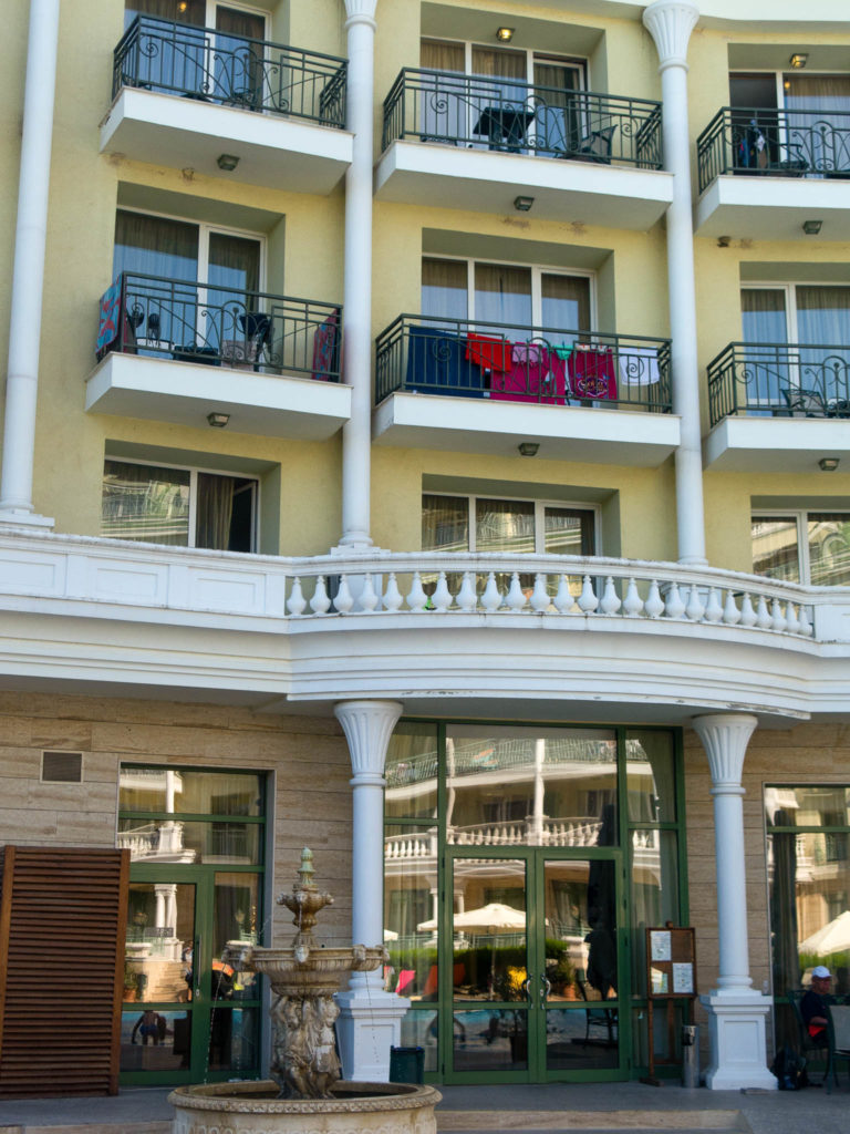 Hotel Romance Splendid Balkone