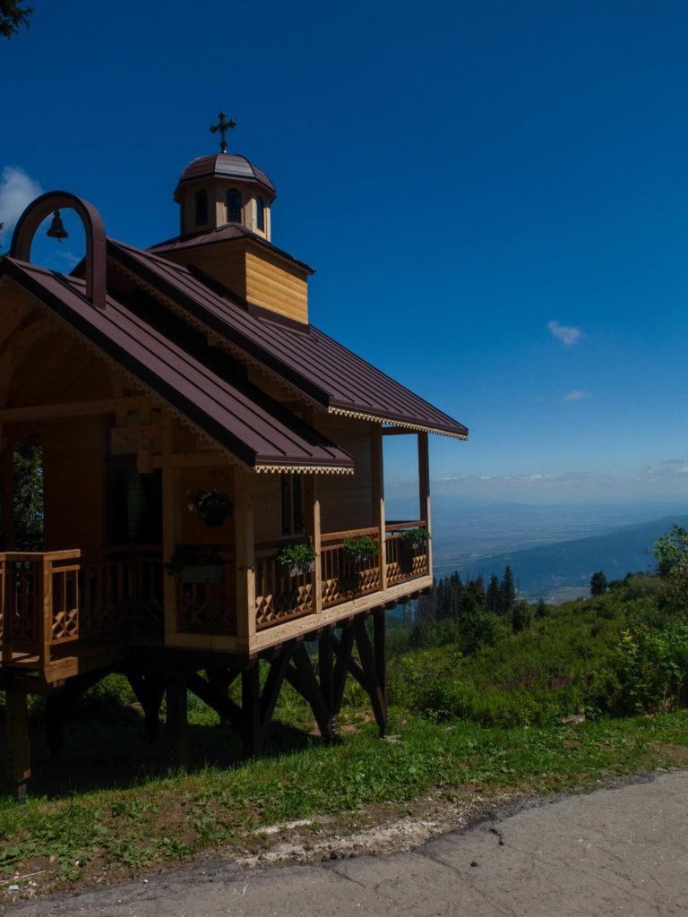 Kapelle auf Vitosha Berg