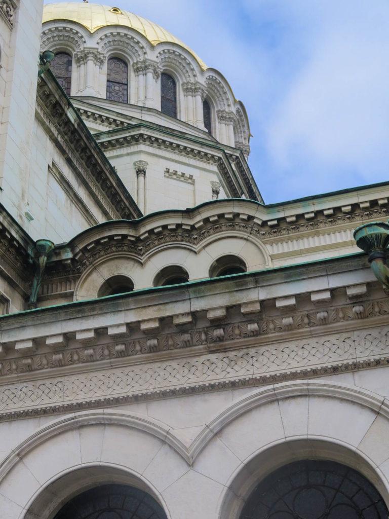 Detail Alexander Newski Kathedrale ins Sofia, außen