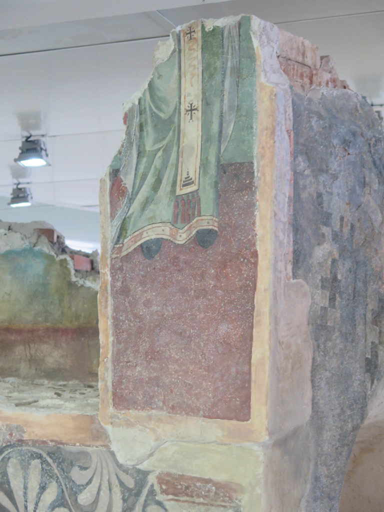 Serdika unten, römische Reste