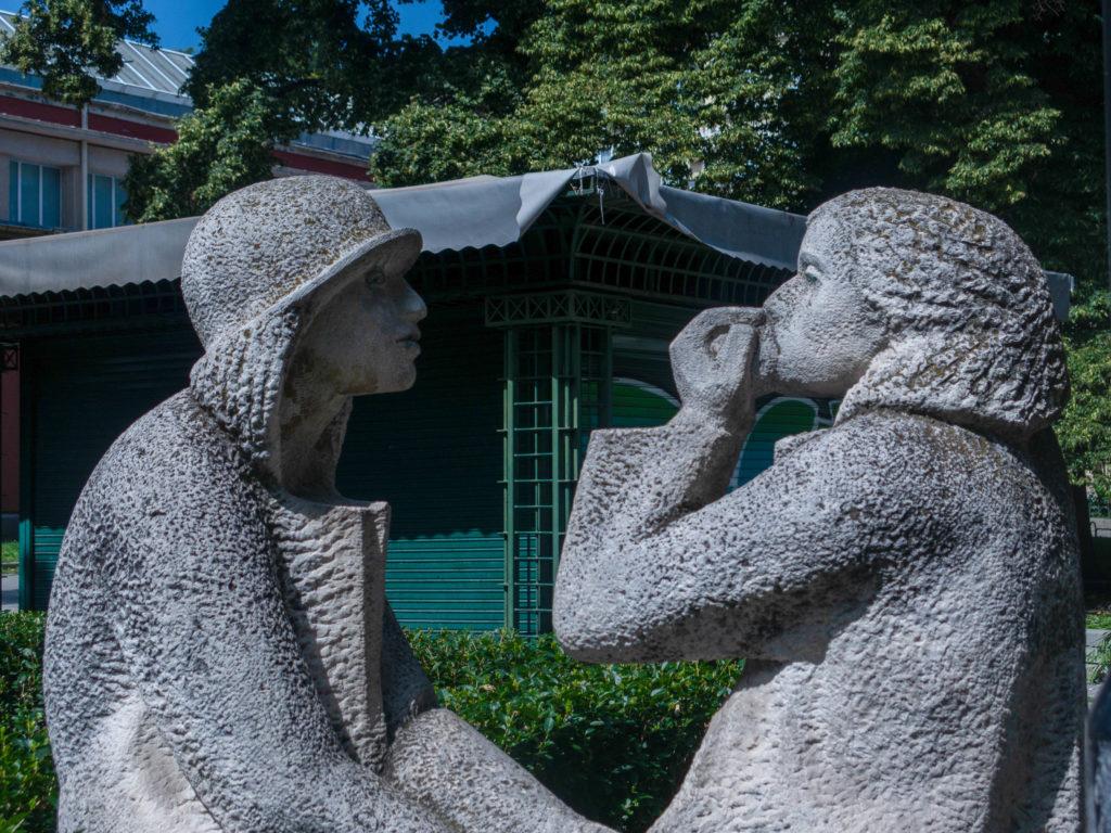 Skulptur in Sofia