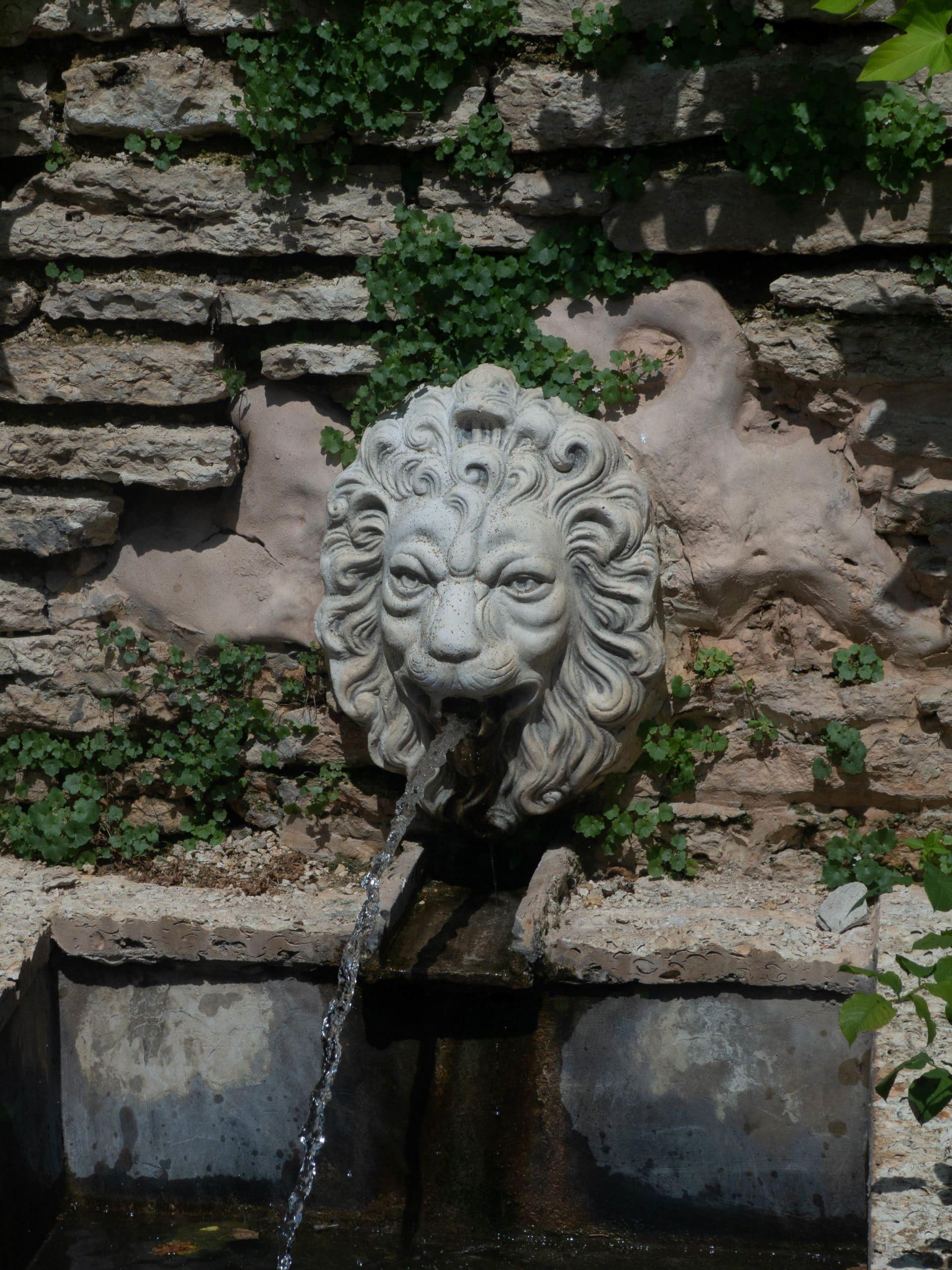 Löwenbrunnen botanische Garten Balchik