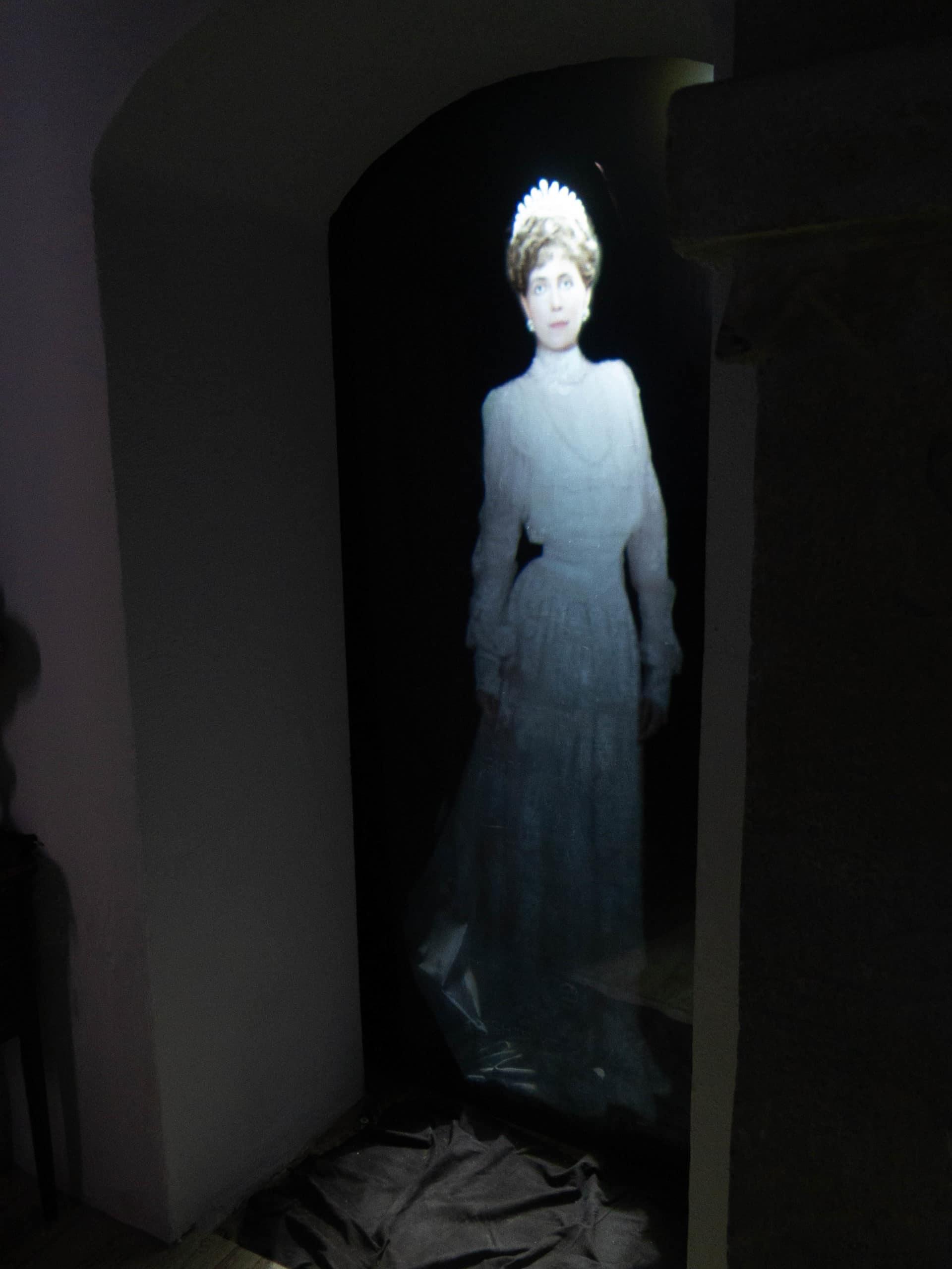 Königin Maria von Rumänien Hologram