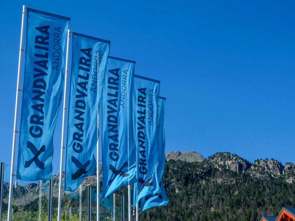 Flaggen Grandvalira Andorra