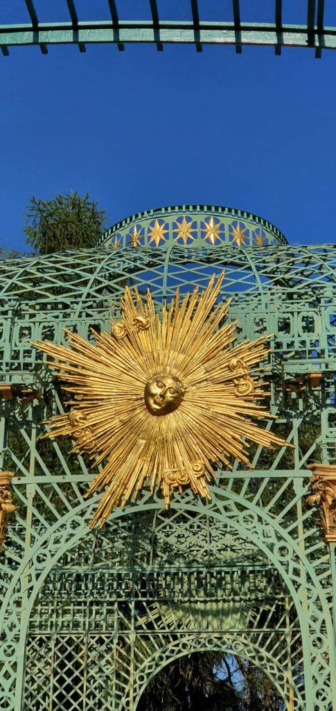goldene Sonne Sanssouci